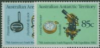 AAT SG61-2 75th Anniversary of Magnetic Pole Expedition set of 2